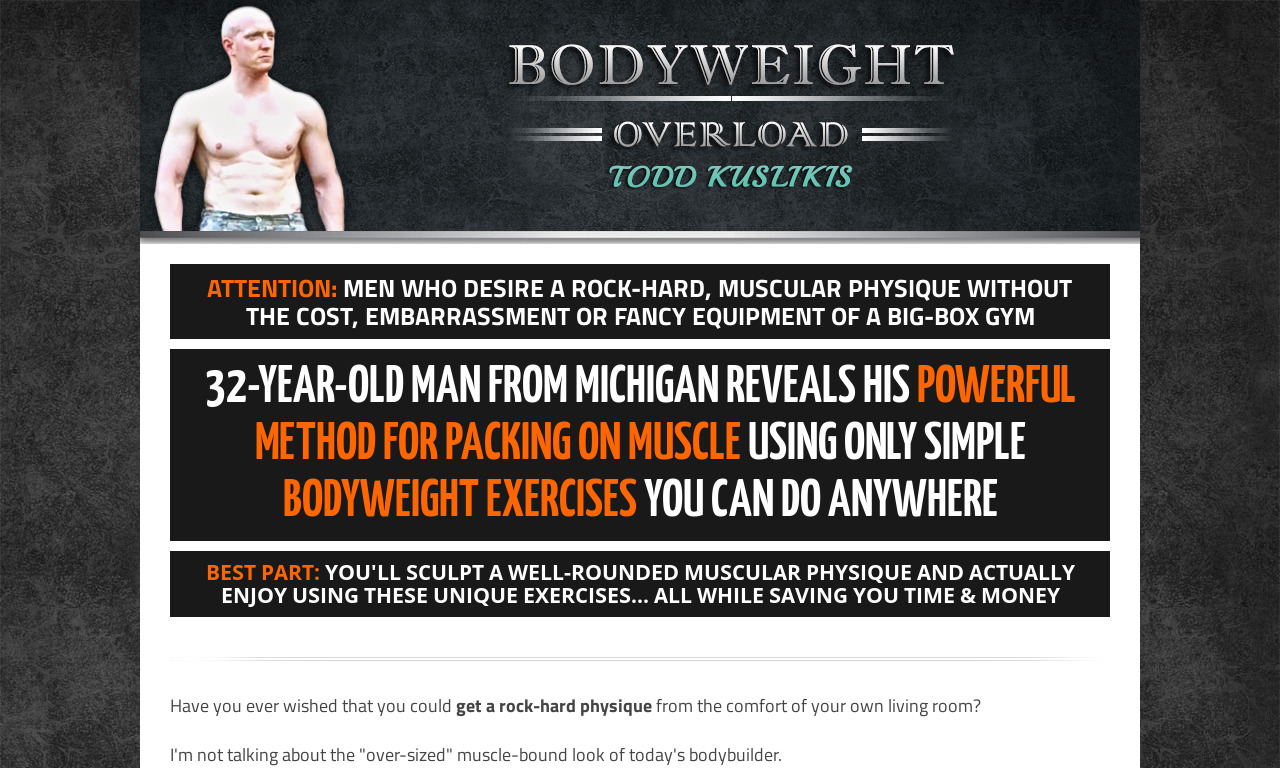 Basic Bodyweight Overload Package