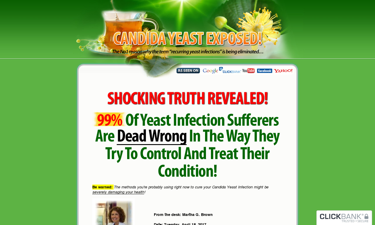 Candida Yeast Exposed!