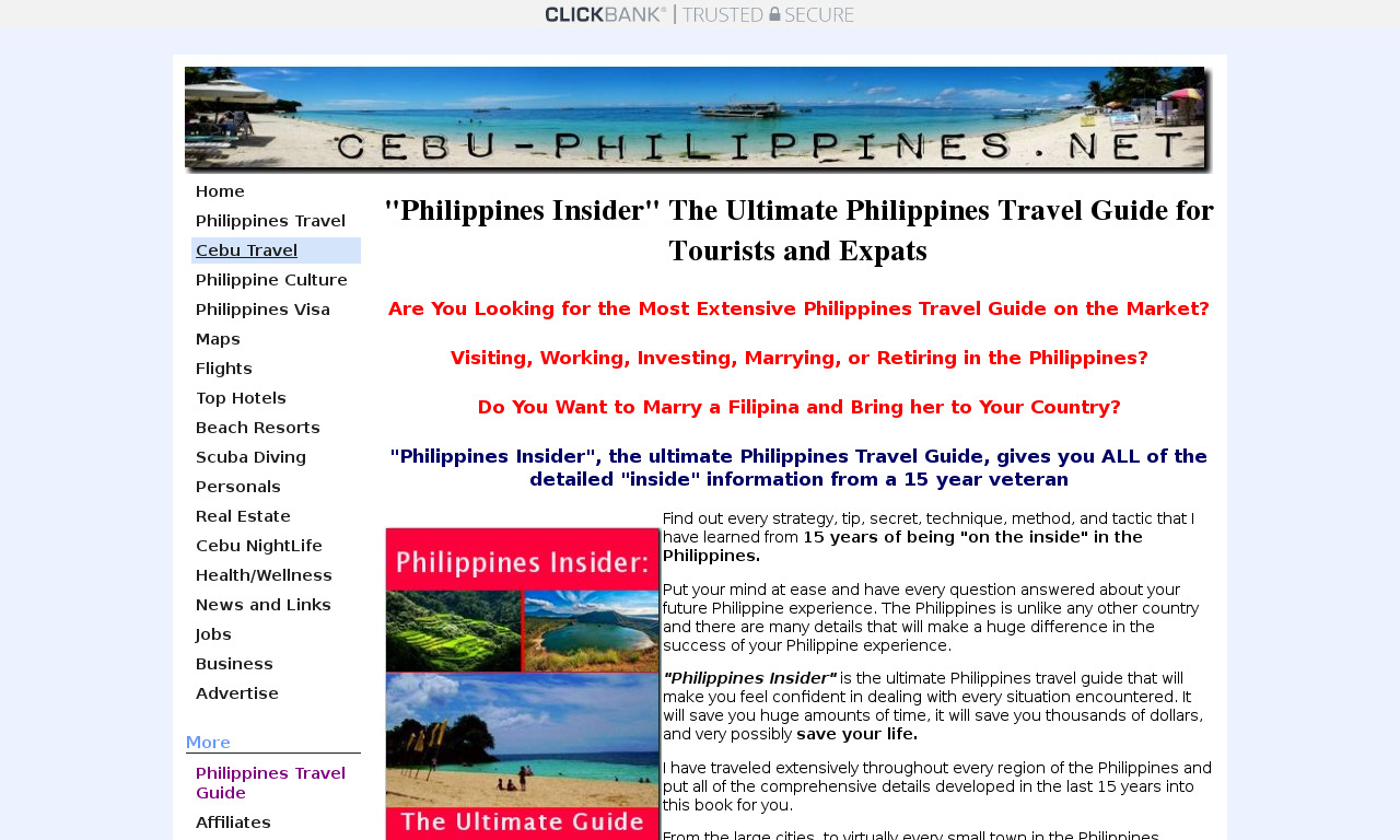 "The a href='/external_link/73575'""Philippines Insider""/a Homepage"