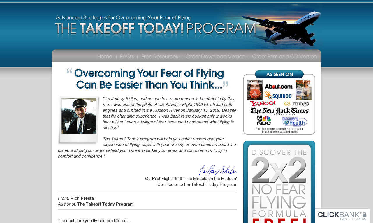 The Complete Takeoff Today Program