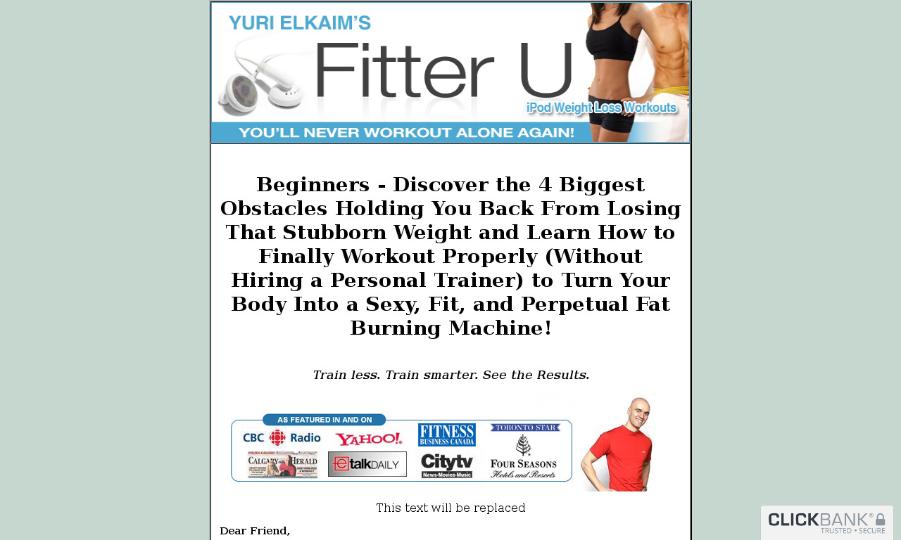 "Fitter U ""Abs and Core Training Manual"""