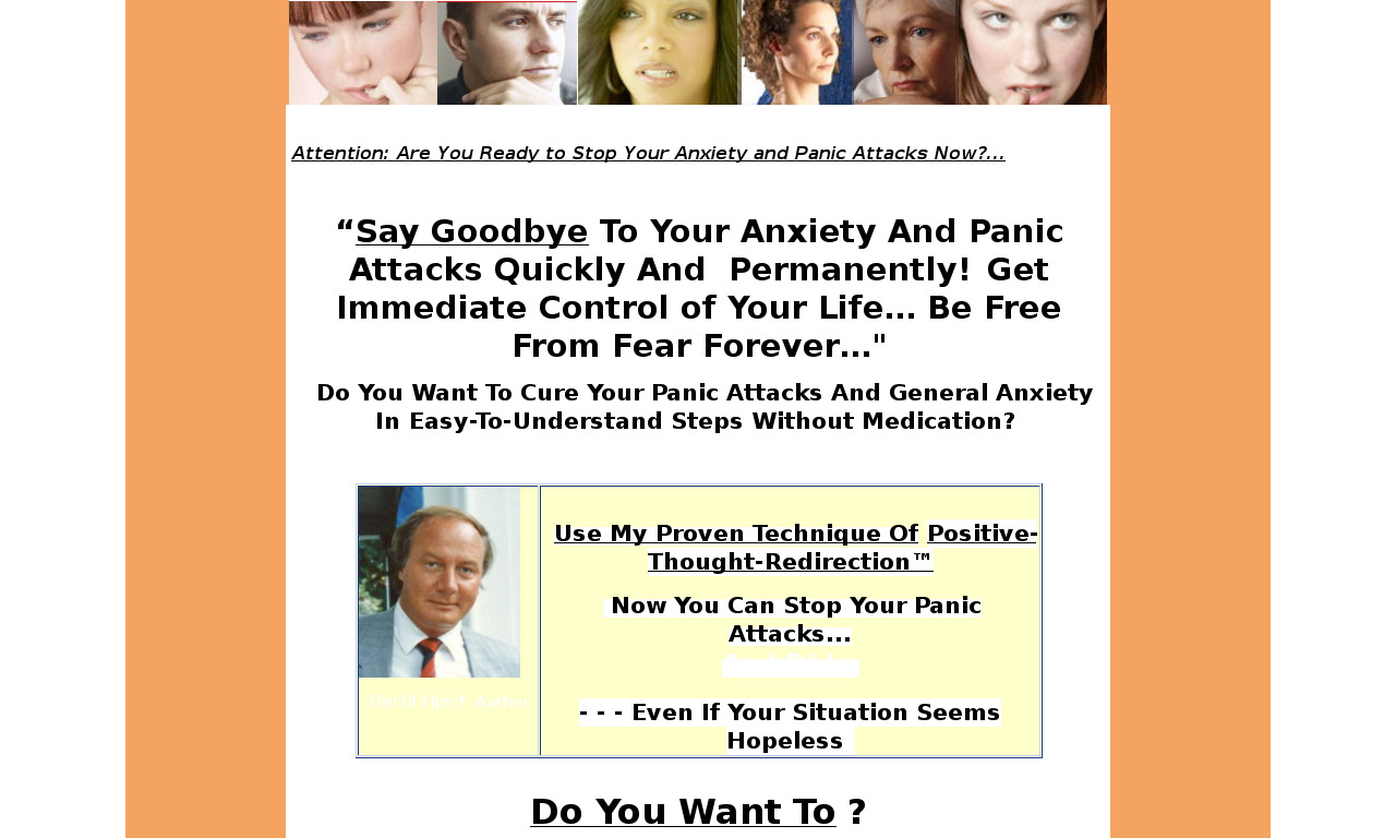 Say Goodbye to Panic and Anxiety Attacks