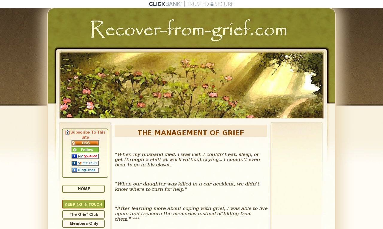 Grief Relief: 5 Steps to Hope & Healing