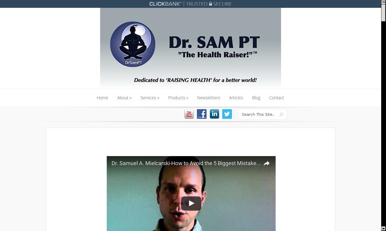 Dr. SAMs Revolutionary Rehab Manual