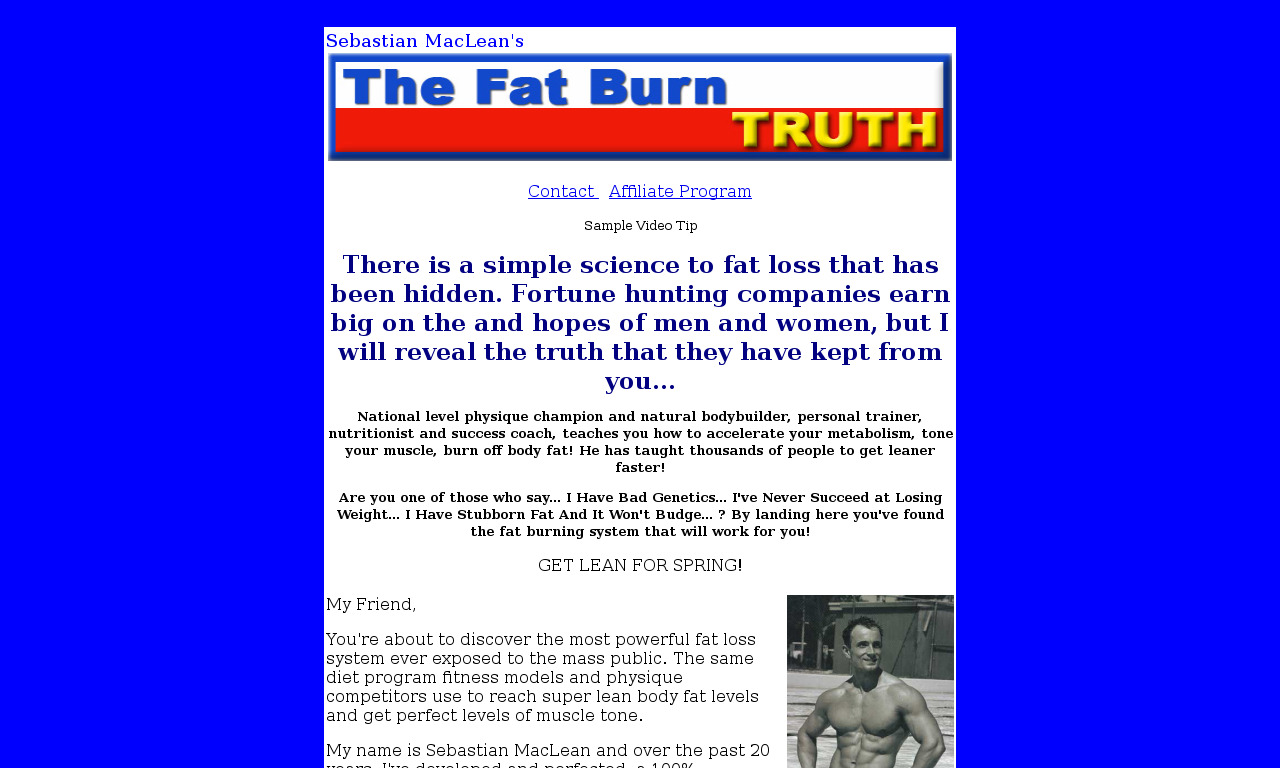 The Fat Burn Truth