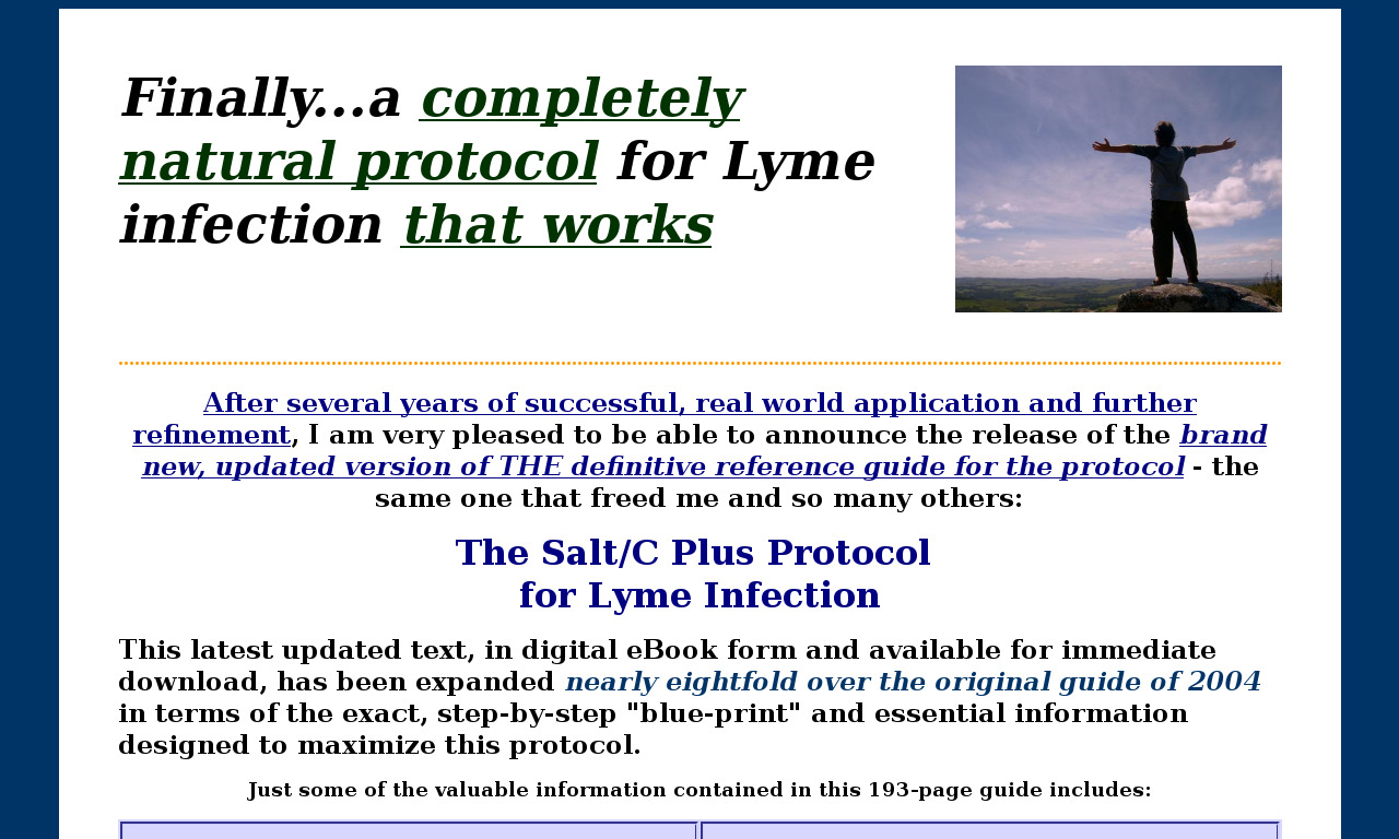 The a href='/external_link/34300'Lyme Strategies/a Homepage
