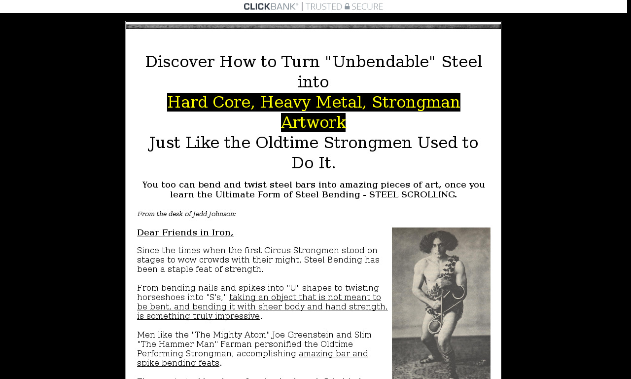 The Art of Scrolling Steel Digital