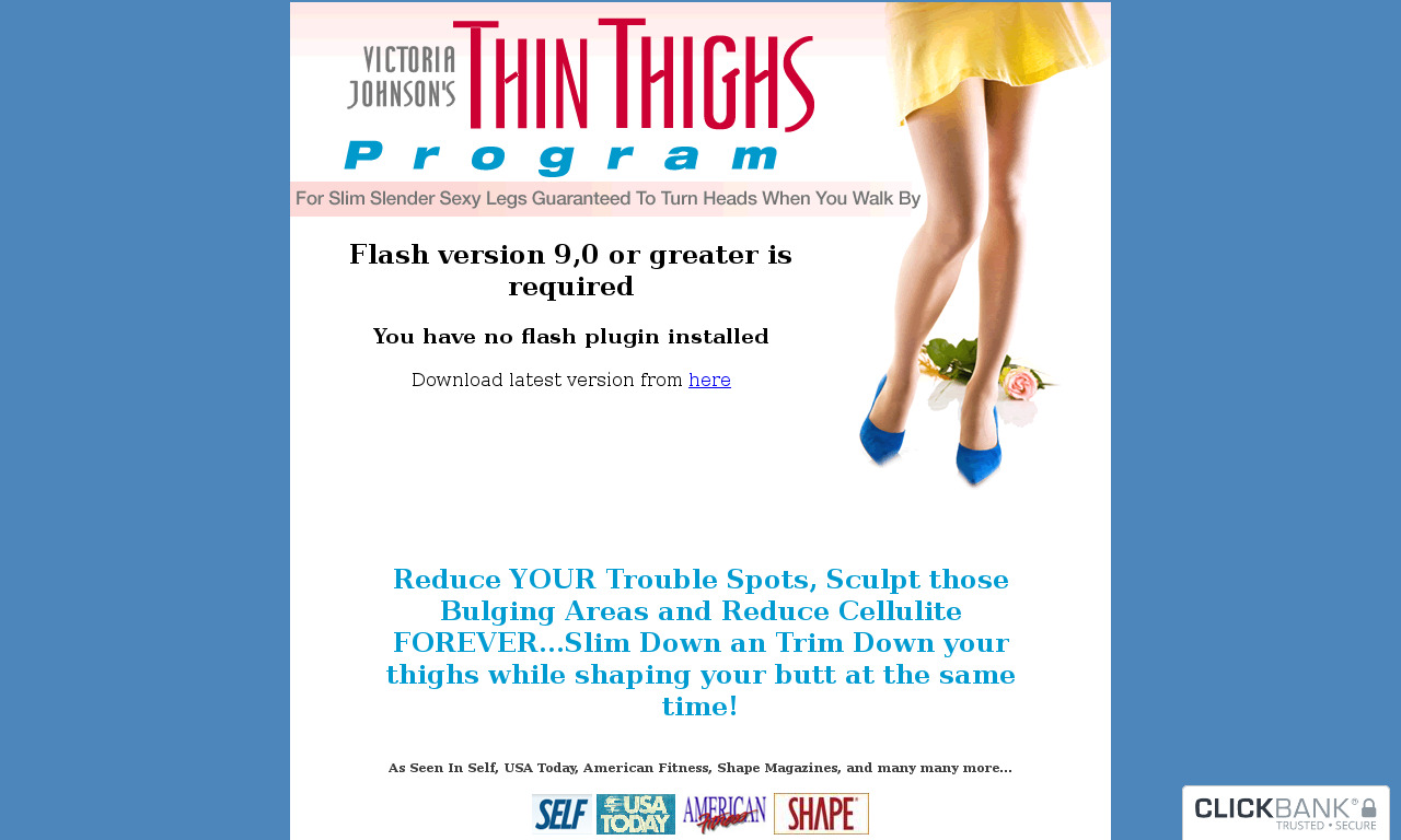 The a href='/external_link/32566'Thin Thighs Program/a Homepage
