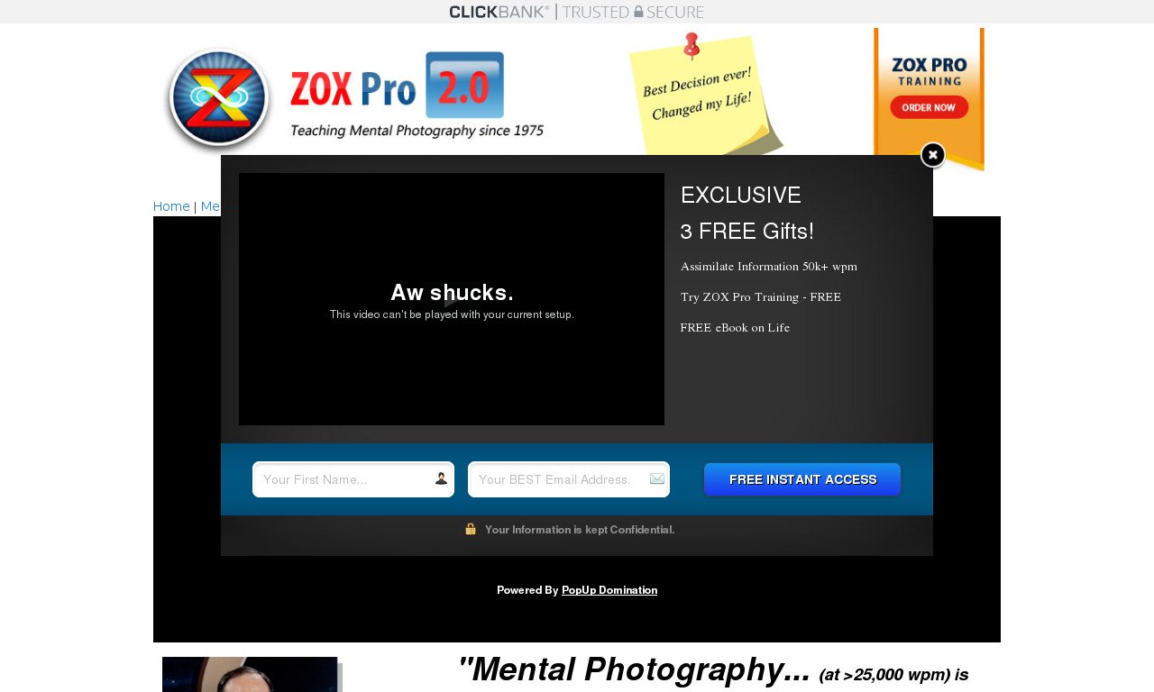 The a href='/external_link/59427'ZOX Pro Training/a Homepage