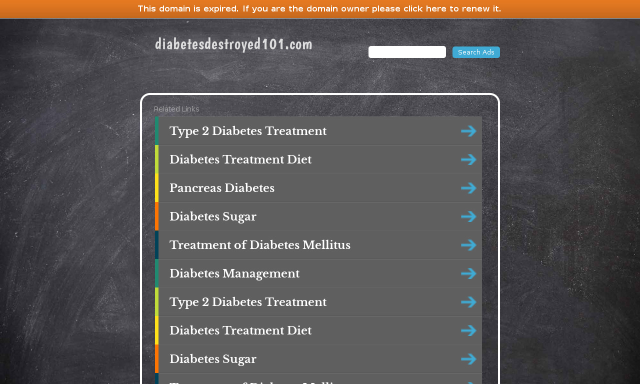 Diabetes Destroyed Program + 60 Days Satisfaction Guarantee