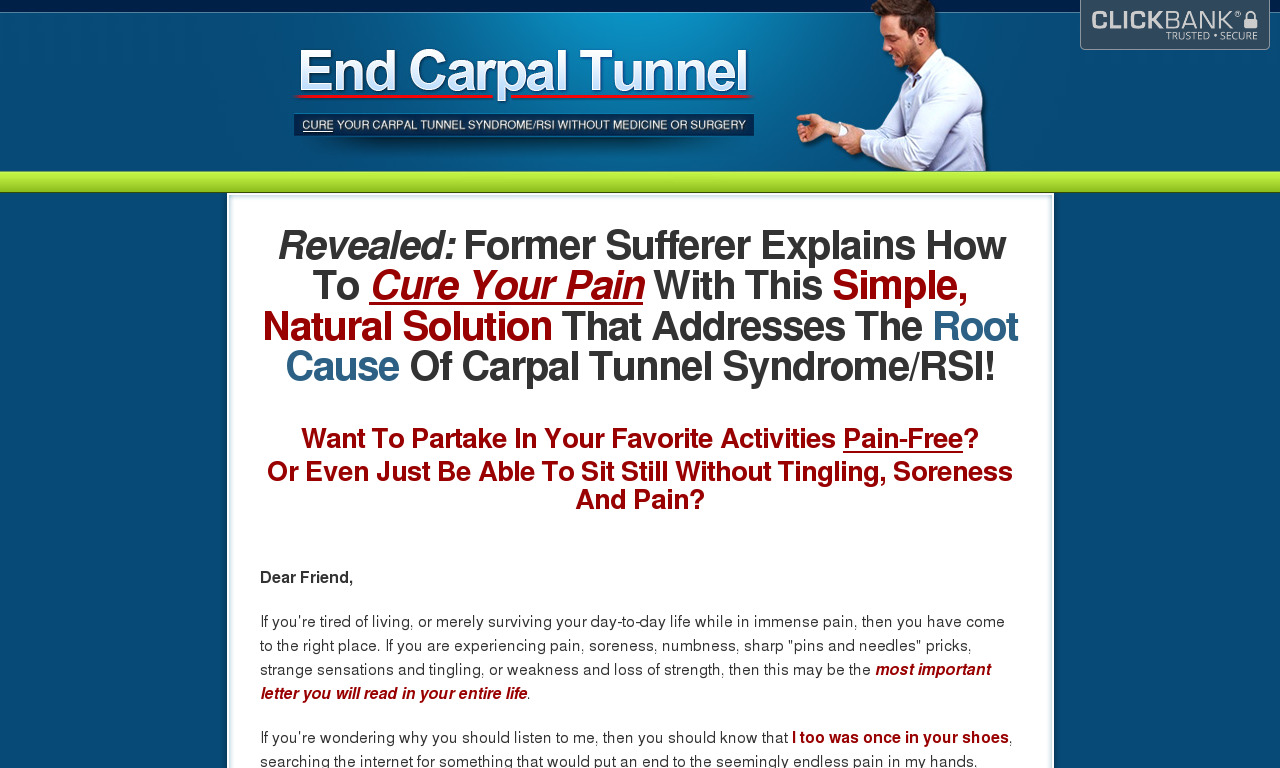 The a href='/external_link/190299'End Carpal Tunnel/a Homepage