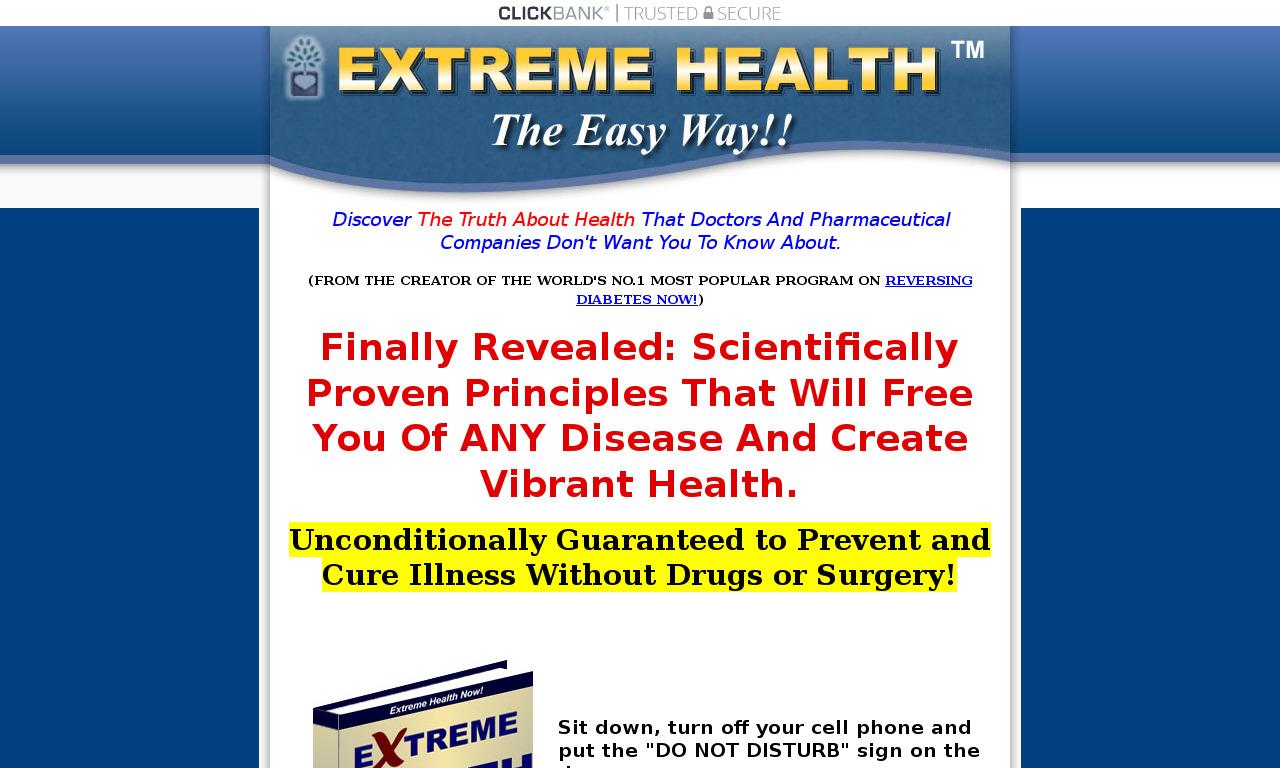 Extreme Health Now!