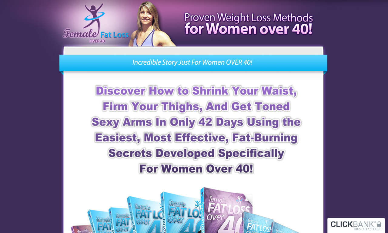 Female Fat Loss Over Forty Christmas Sale