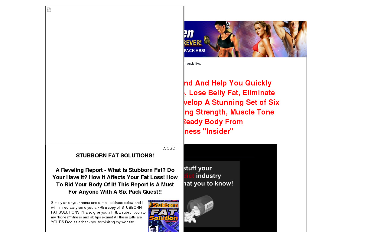 The a href='/external_link/149911'Firm and Flatten Your Abs eBook/a Homepage