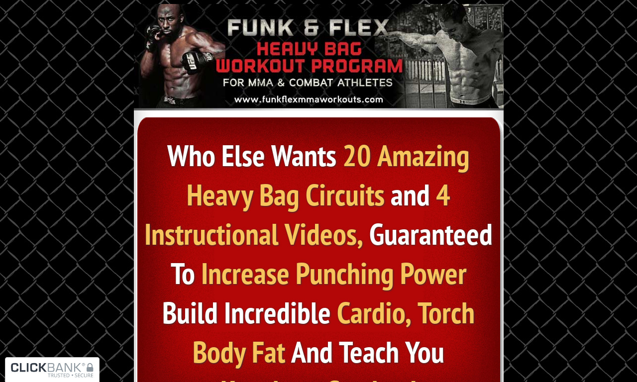 Funk & Flex Heavy Bag Workouts for Combat Sports