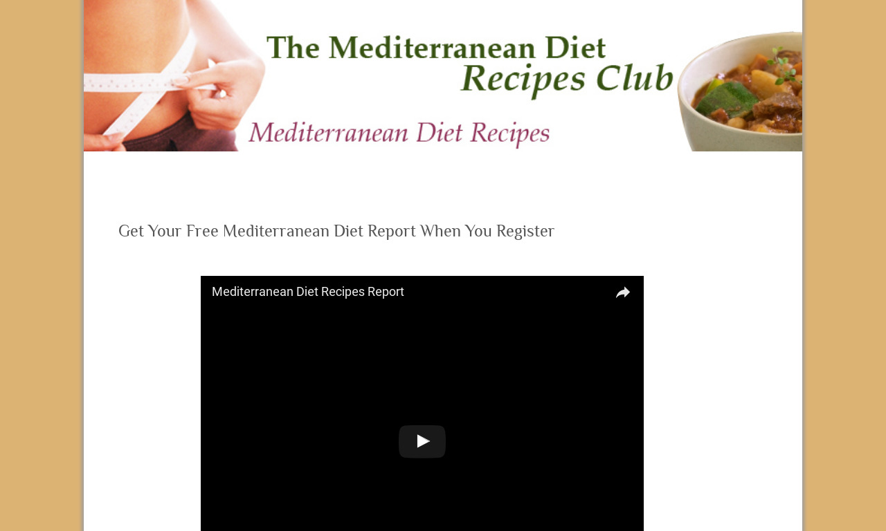 Mediterranean Diet Recipes Club
