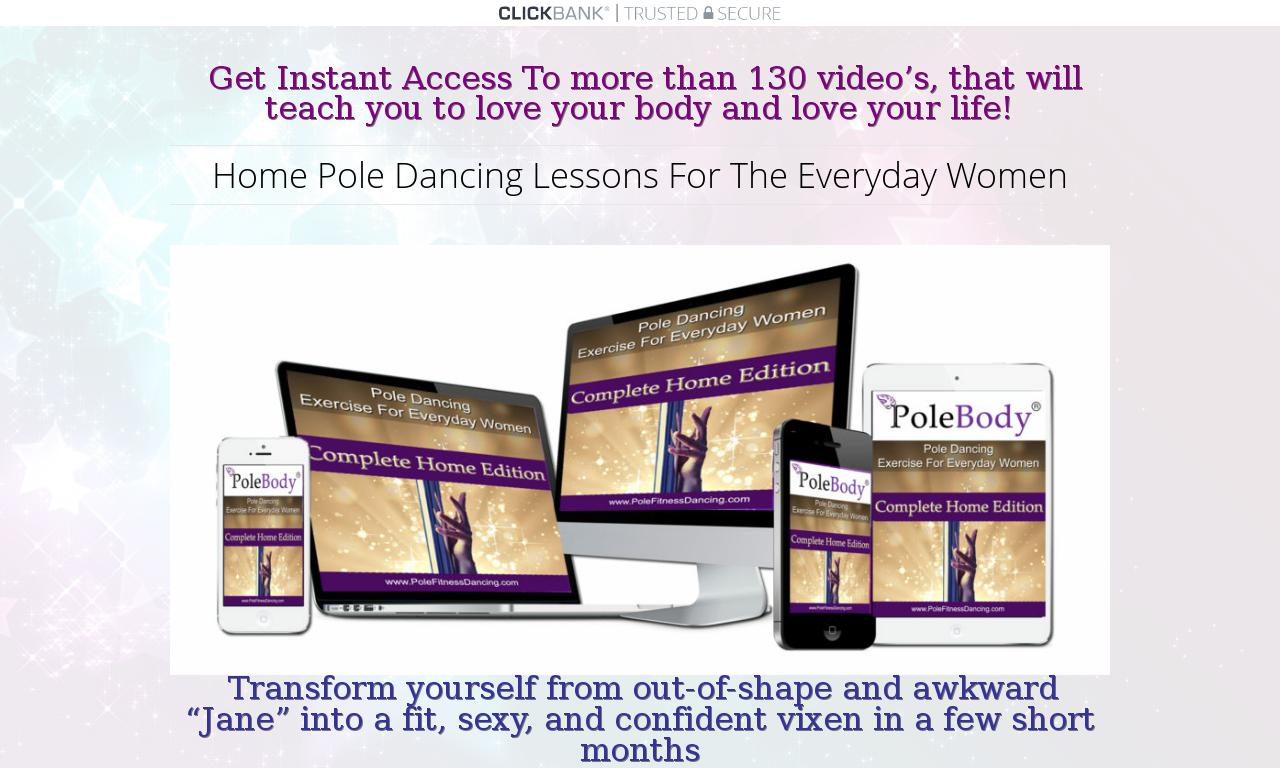 Home Pole Dancing Lessons For The Everyday Woman