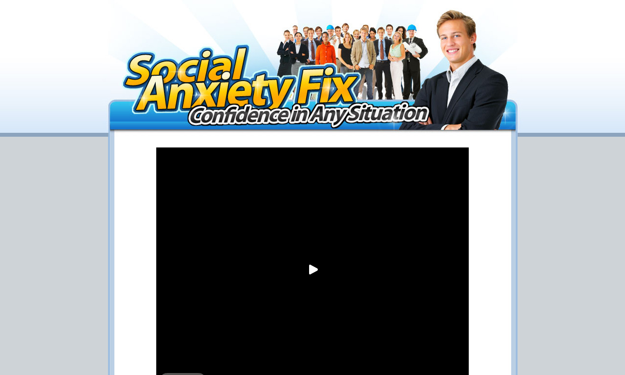 The a href='/external_link/145720'Social Anxiety Fix/a Homepage