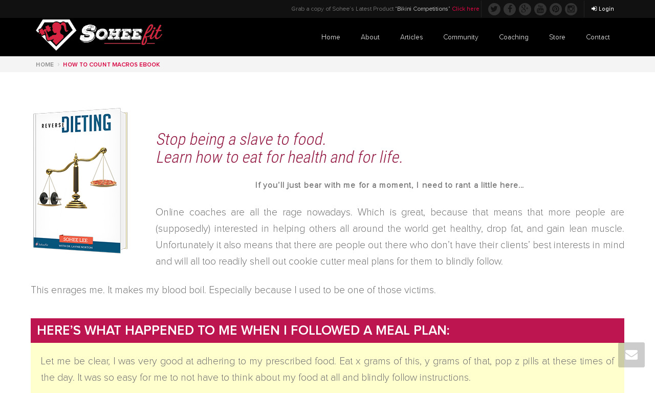 The a href='/external_link/140232'Reverse Dieting/a Homepage