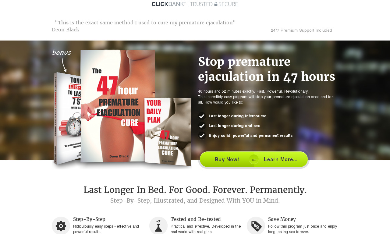 The_47_Hour_Premature_Ejaculation_Cure