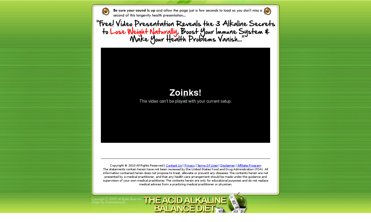 The Alkaline Diet E