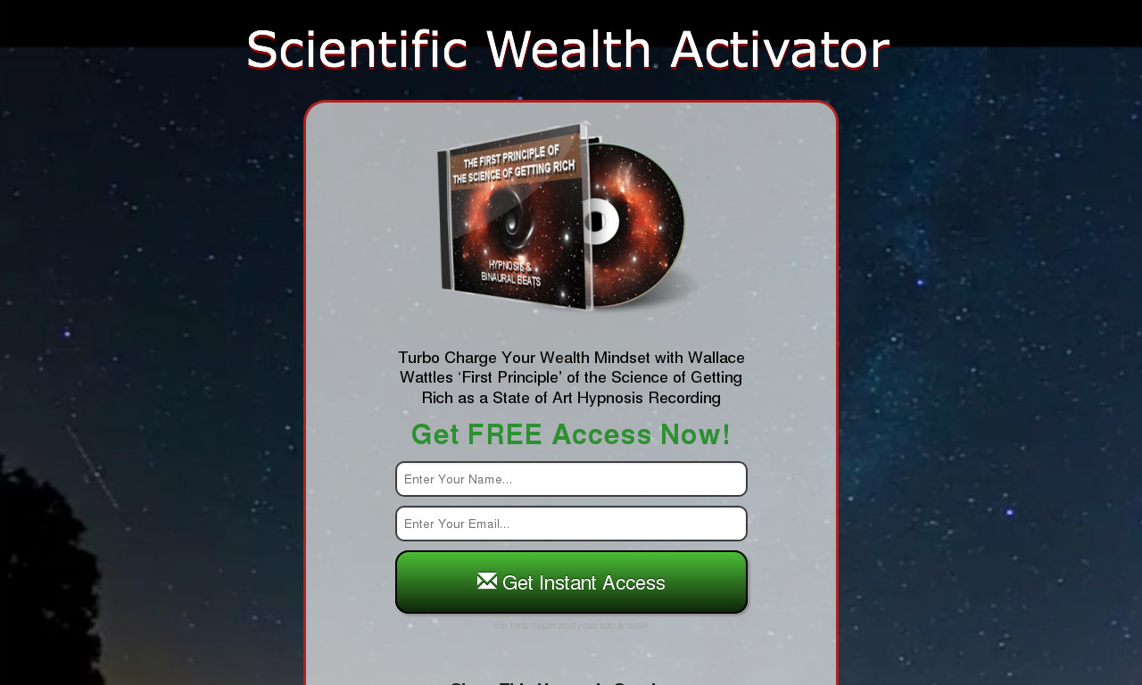 The Science of Getting Rich Hypnosis Monthly Subscription