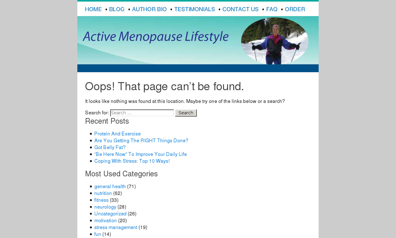 The Truth About Menopause E