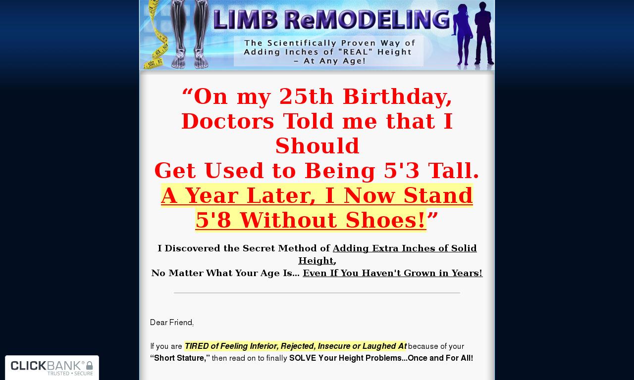 Limb Remodeling