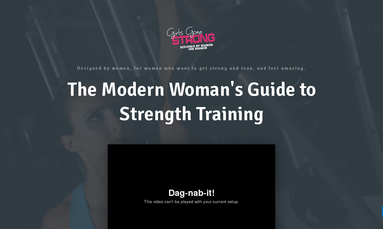 The Modern Woman's Guide to Strength Training GOLD Coupon