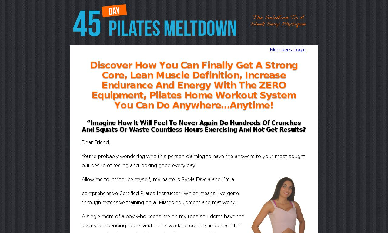 Body Weight Pilates