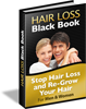 Hair Loss Black Book - Hot New Product - Untapped CB Niche! product box