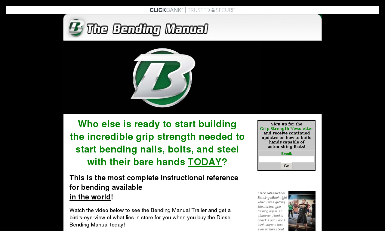 The a href='/external_link/239856'The Bending eBook/a Homepage