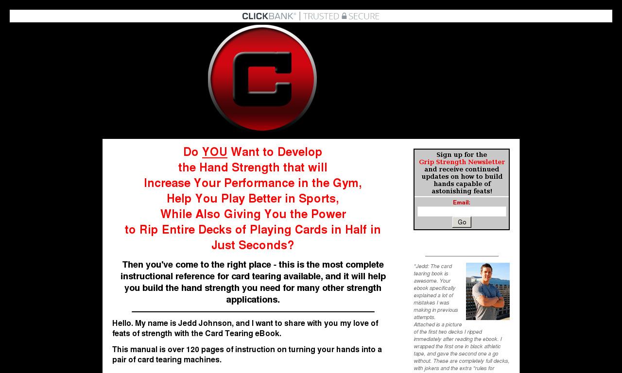 Card Tearing Ebook : How To Tear Cards