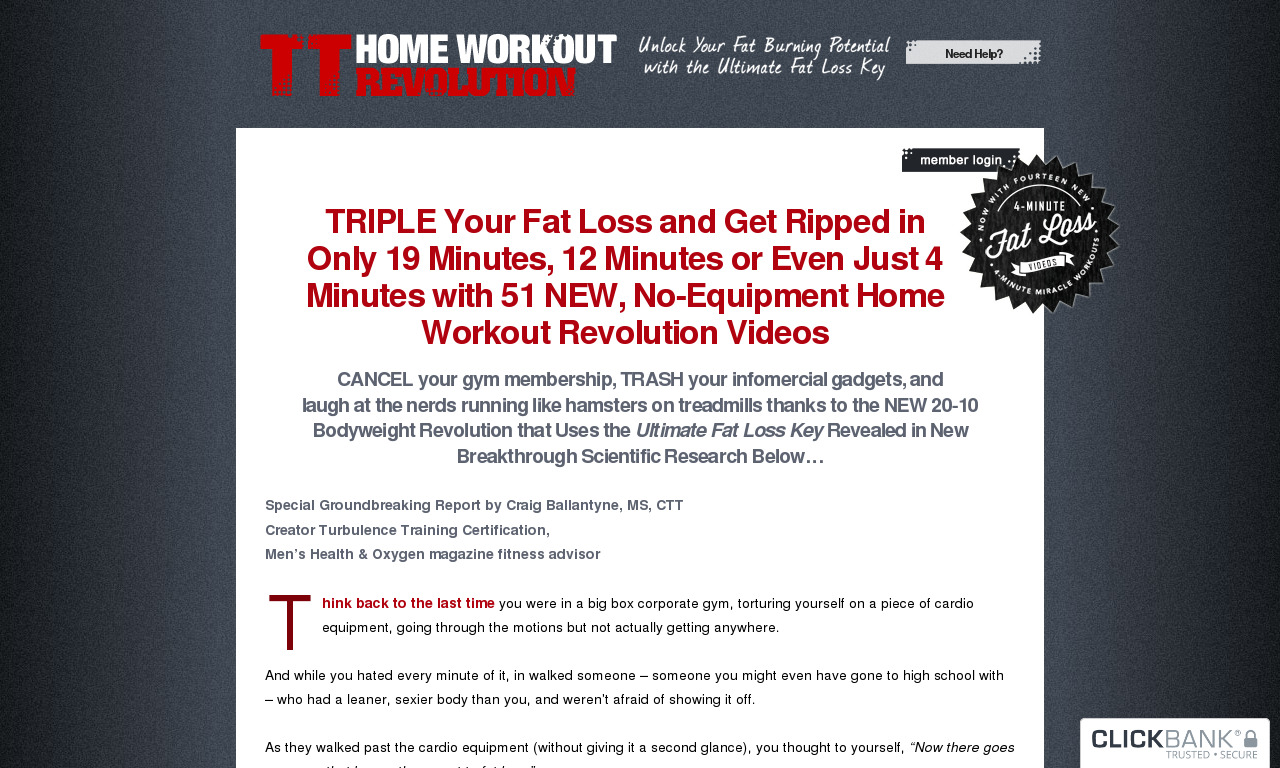 Home Workout Revolution 4