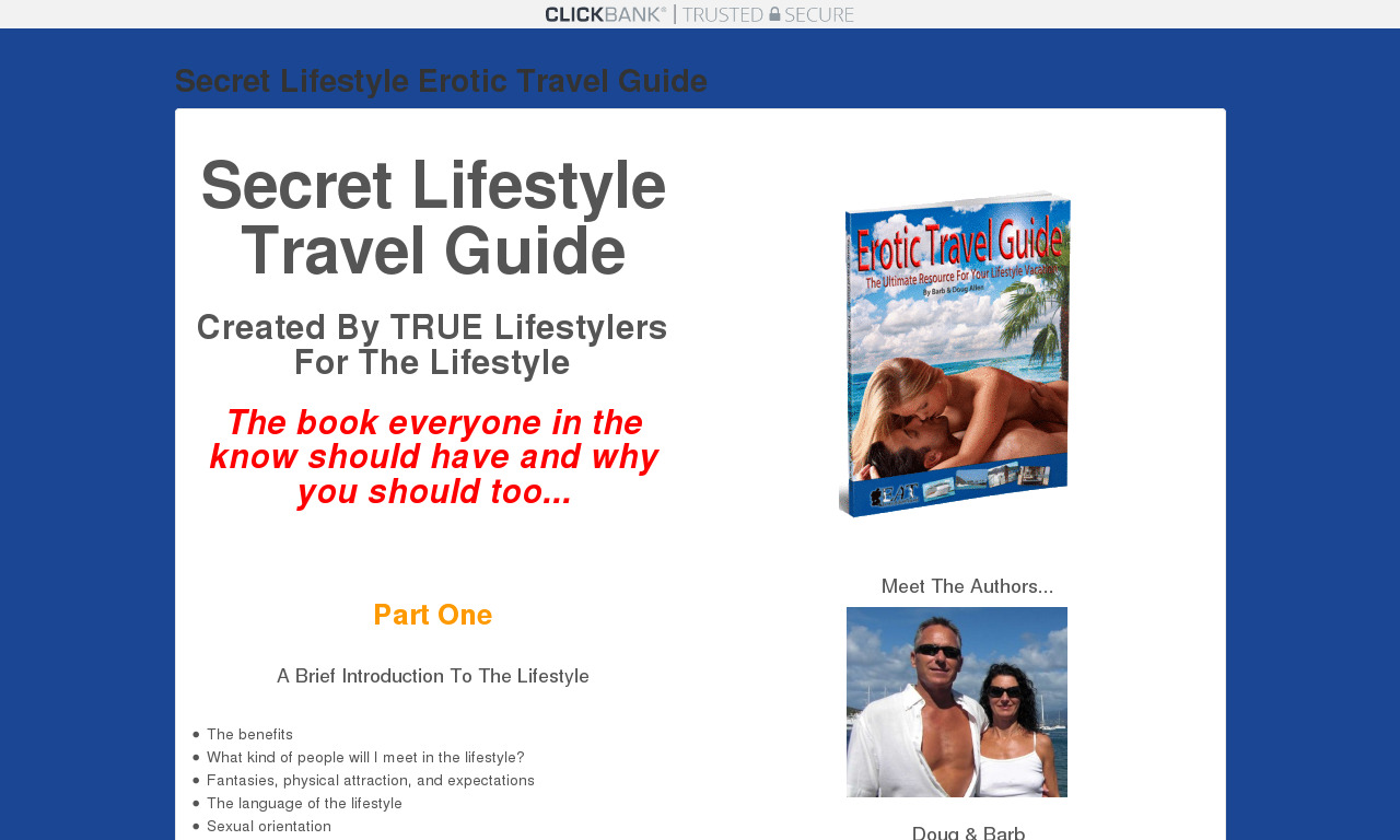 The a href='/external_link/552374'Erotic Travel Guide /aHomepage