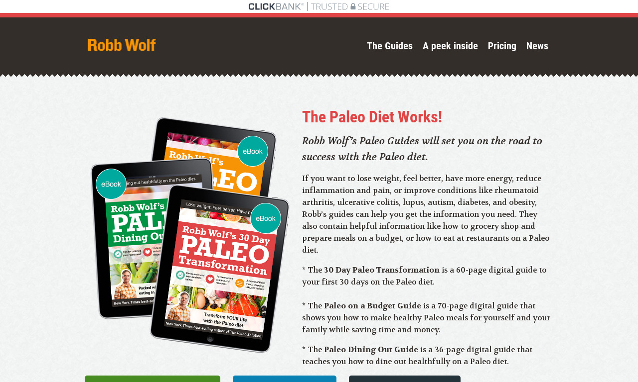 Paleo Diet Guides From Robb Wolf