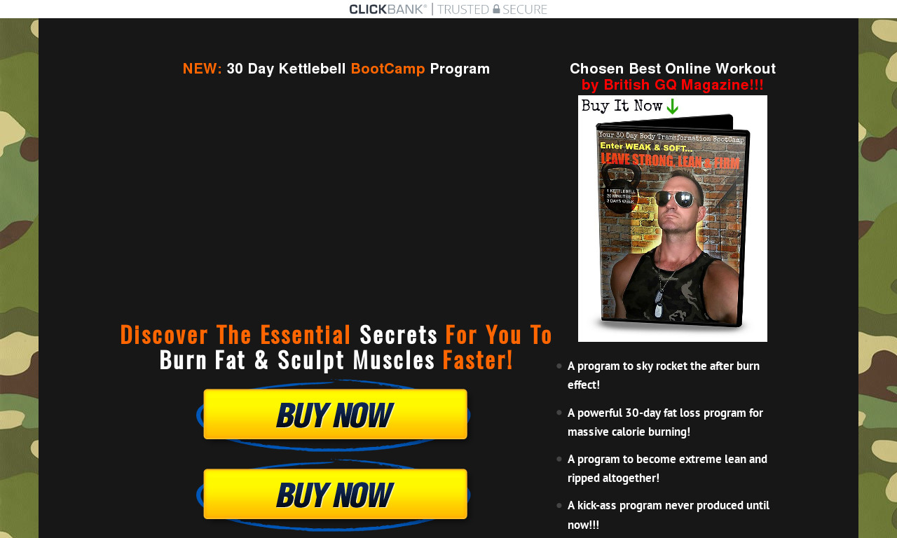 The a href='/external_link/417833'30 Day Kettlebell Boot Camp/a Homepage