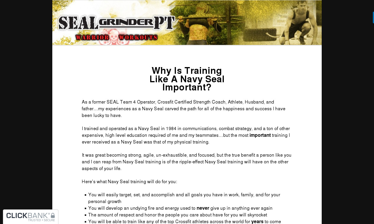 The a href='/external_link/620587'Freak Frogman Workouts/a Homepage