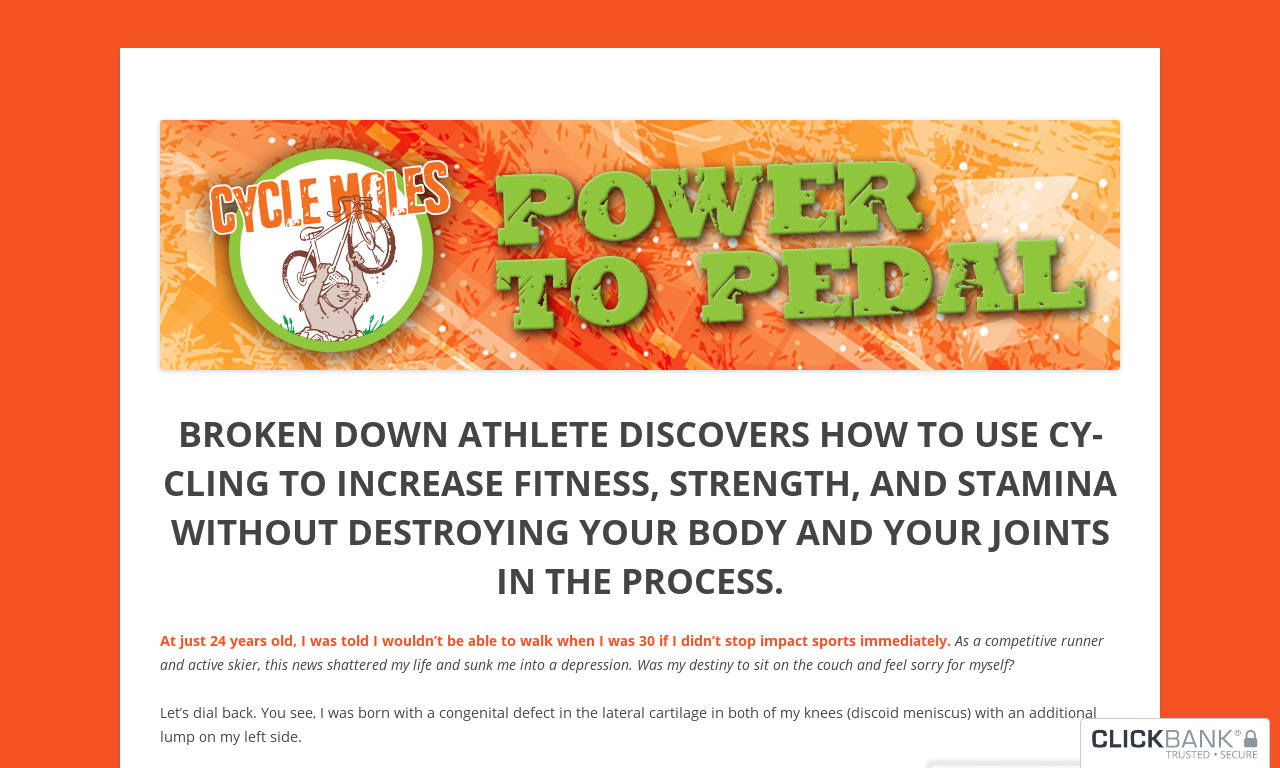Power To Pedal