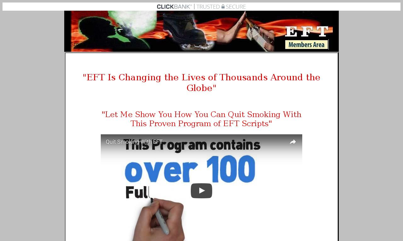Stop Smoking With EFT