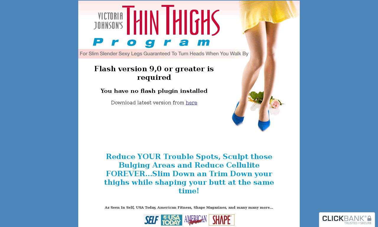 Thin Thighs Program