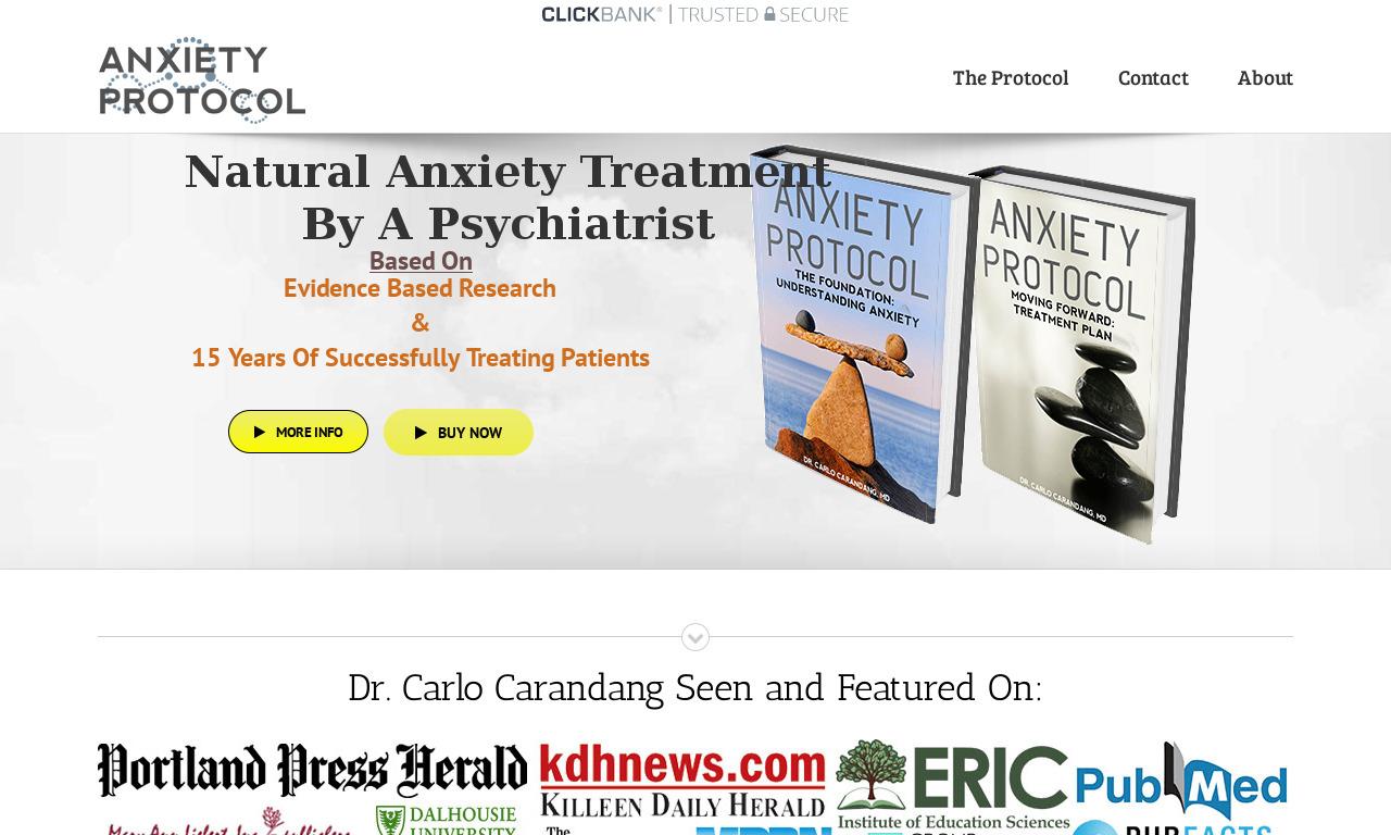 Anxiety Protocol