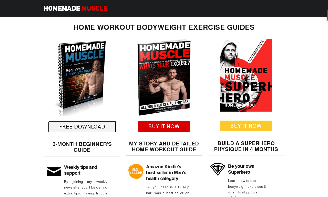 Homemade Muscles 50% Off