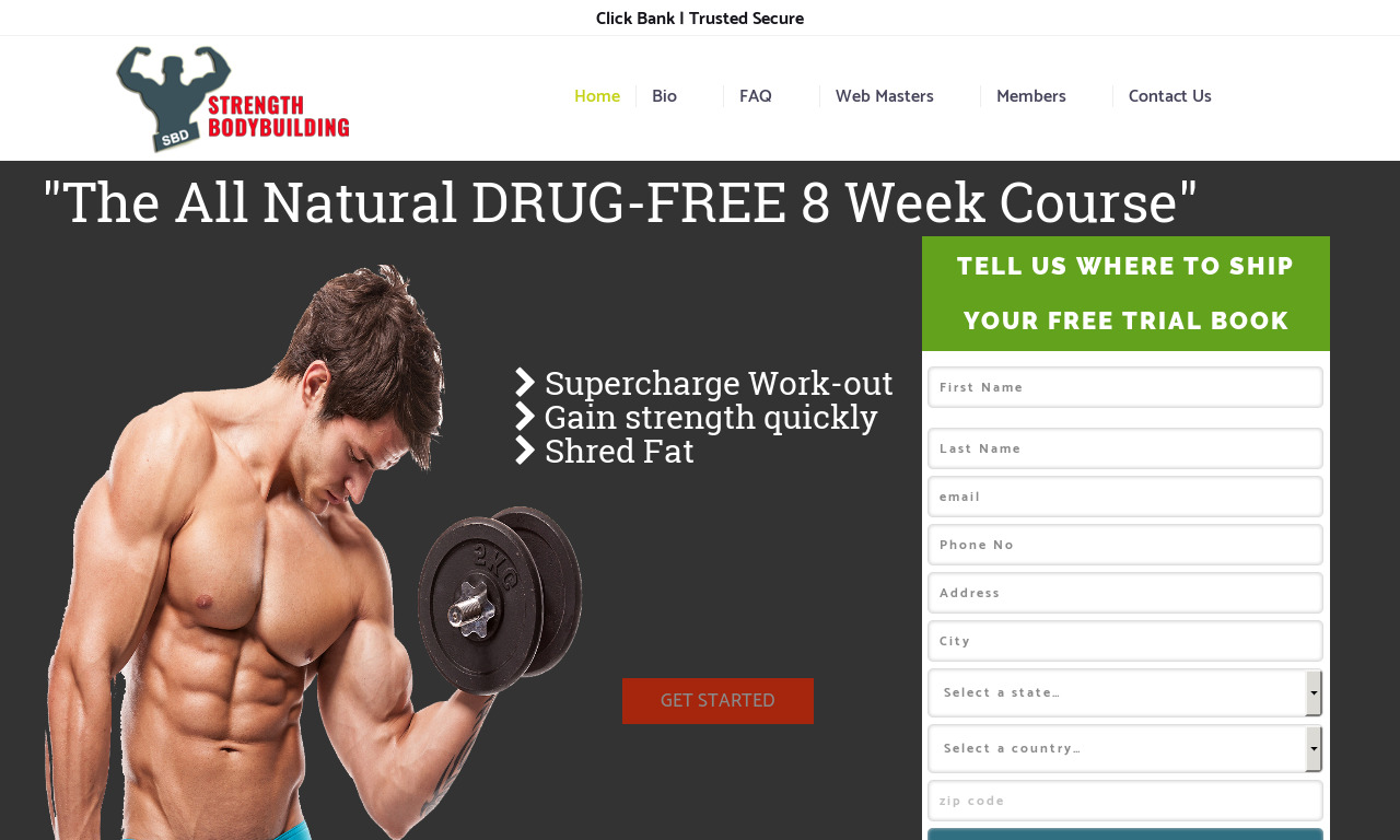 STRENGTHBODYBUILDING 8 Week Size and Strength Course