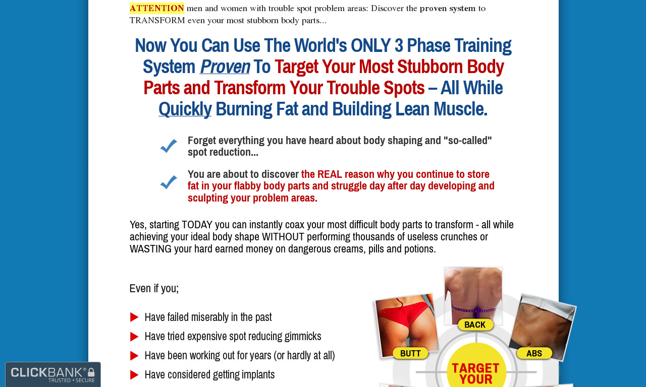 Trouble Spot Training System