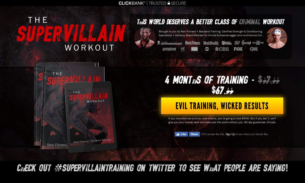 The Super Villain Training Package