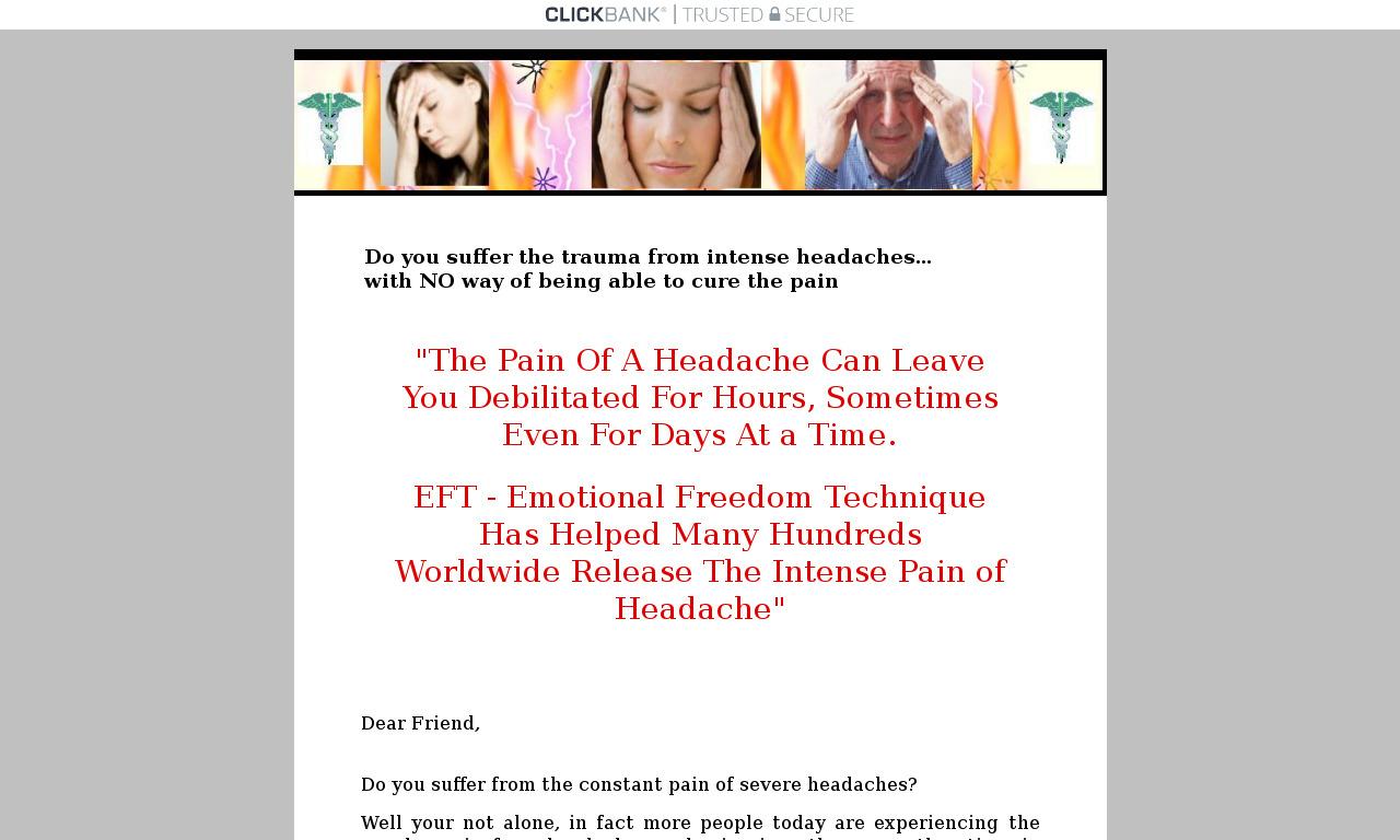 EFT For Headaches