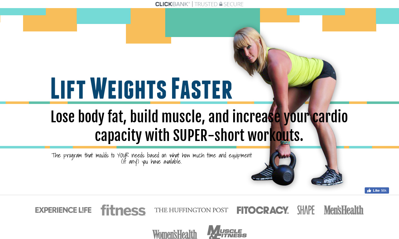 Lift Weights Faster and Eat Better Faster