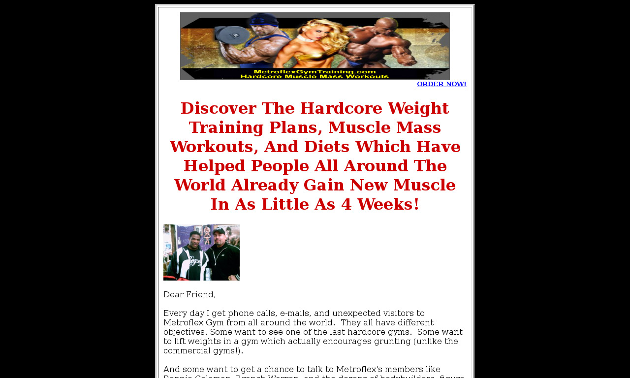 Metroflex Gyms Down To Earth Guide To Your Ideal Body