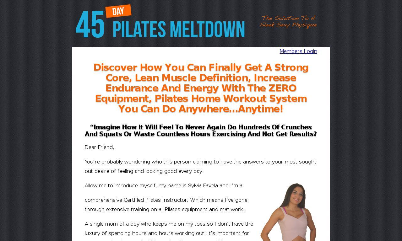 Body Weight Pilates